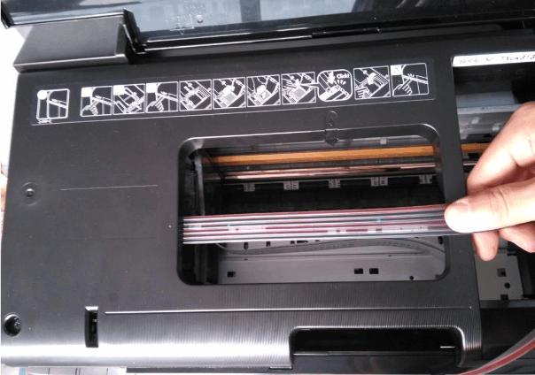 爱普生R330连供安装教程