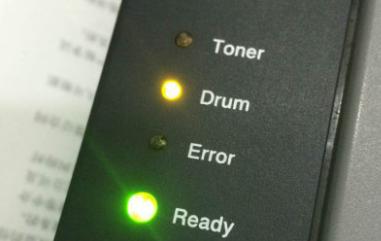 兄弟HL-2260D激光打印机上drum灯常亮,更换硒鼓时,兄弟2260硒鼓清零图解