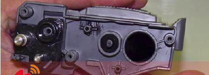 联想M7615、M7605、M7675、LJ2605、LJ2405、M7455、M7405粉盒加粉方法