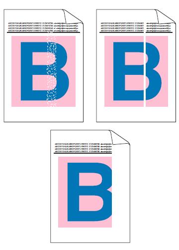 兄弟8520CDN页面中有纵向白线或白色条纹