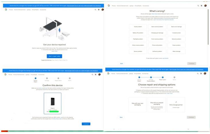谷歌推出谷歌维修:为过保设备提供维修服务